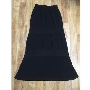 SALE 3/$18 Forever 21 boho maxi skirt